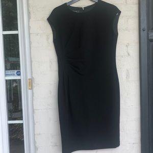 Lafayette 148 wool crepe dress